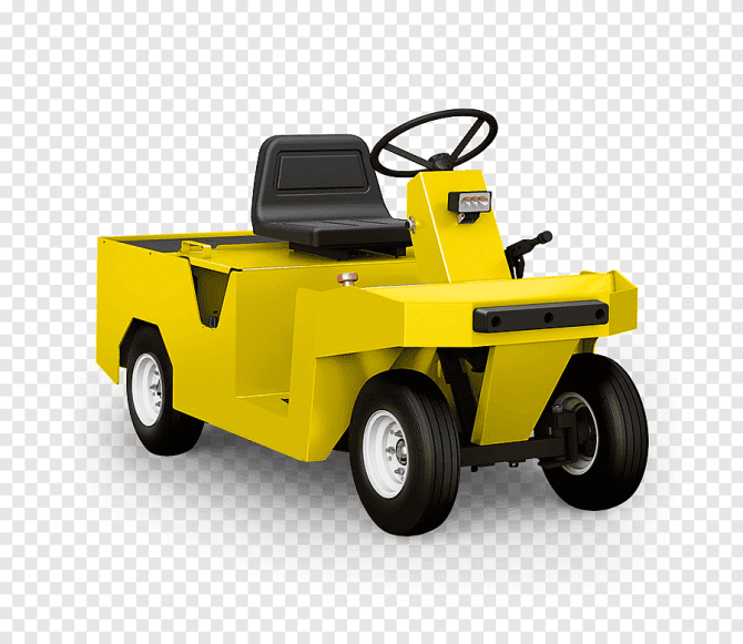electric vehicle towing electricity tractor car taylor dunn