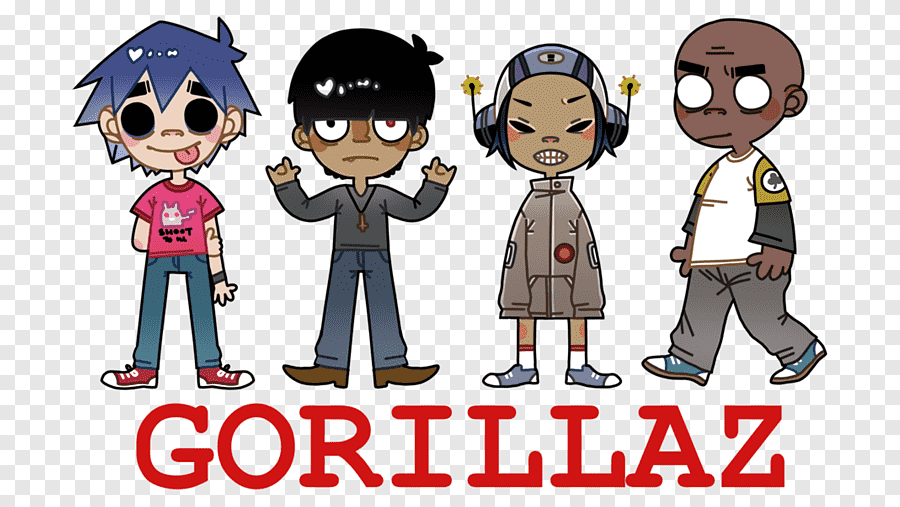 We print the highest quality gorillaz noodle fist posters and art prints on the internet 2 D Noodle Gorillaz Dirty Harry Drawing Noodle Cartoon Fictional Character Weapon Png Pngegg
