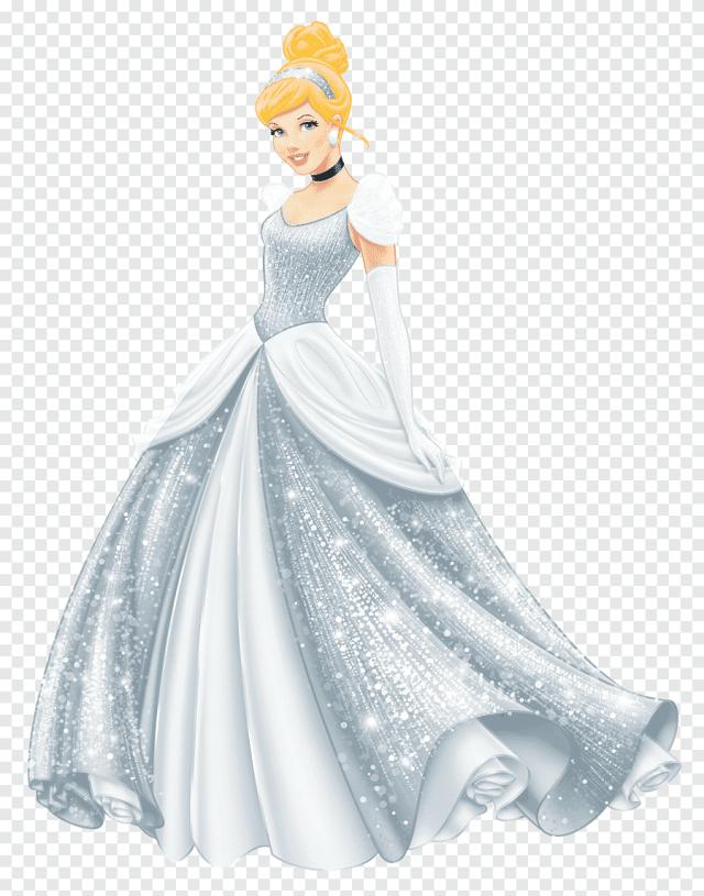 Robe de mariée blanche comme neige Cendrillon Princesse Disney