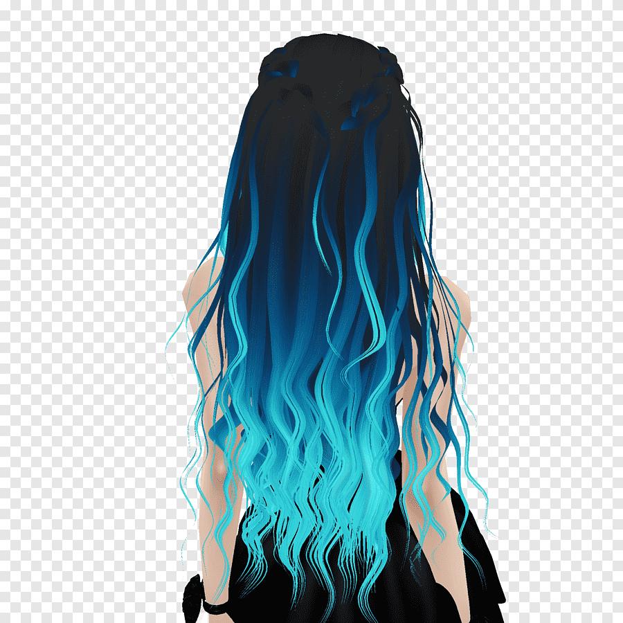 Spitzen mit dunkelbraune haare blauen WENN DIESE