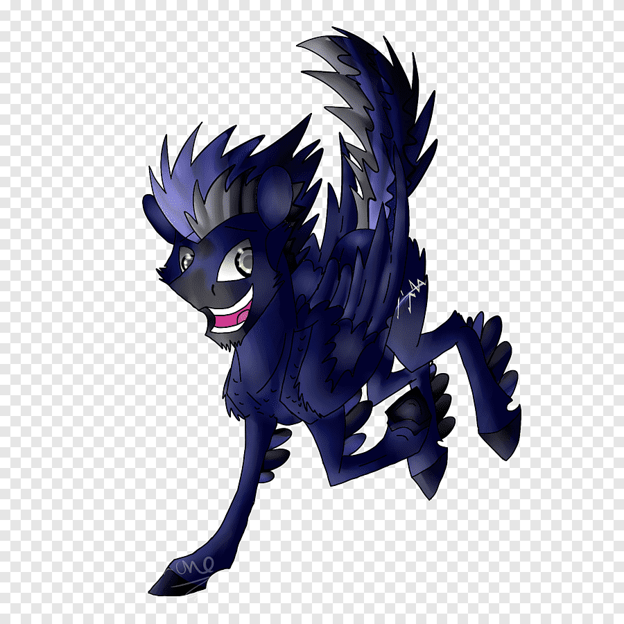 Illustration Desktop Cartoon Purple Computer Cool Wolf Drawings Mlp Png Pngegg