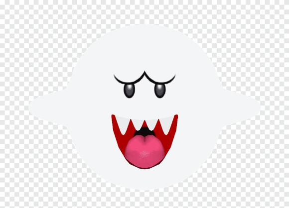 Mario Smiley Boos Pesan Teks Mario Pahlawan Smiley Png Pngegg