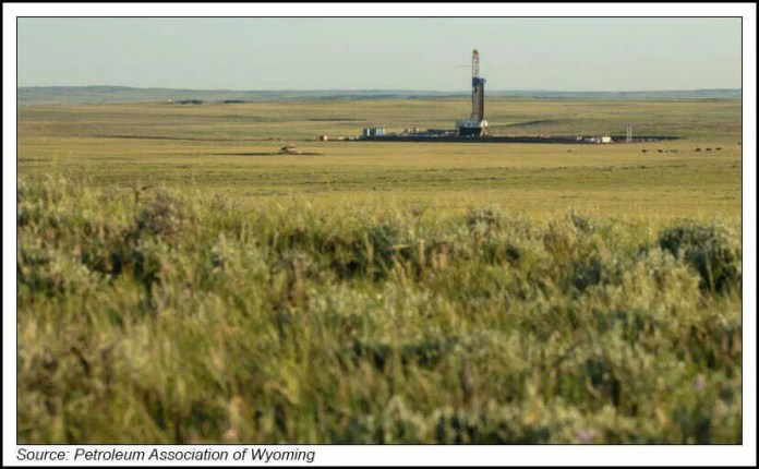 Wyoming drilling rig