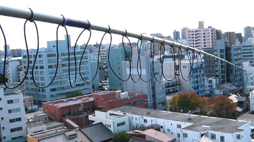 Antena balconera