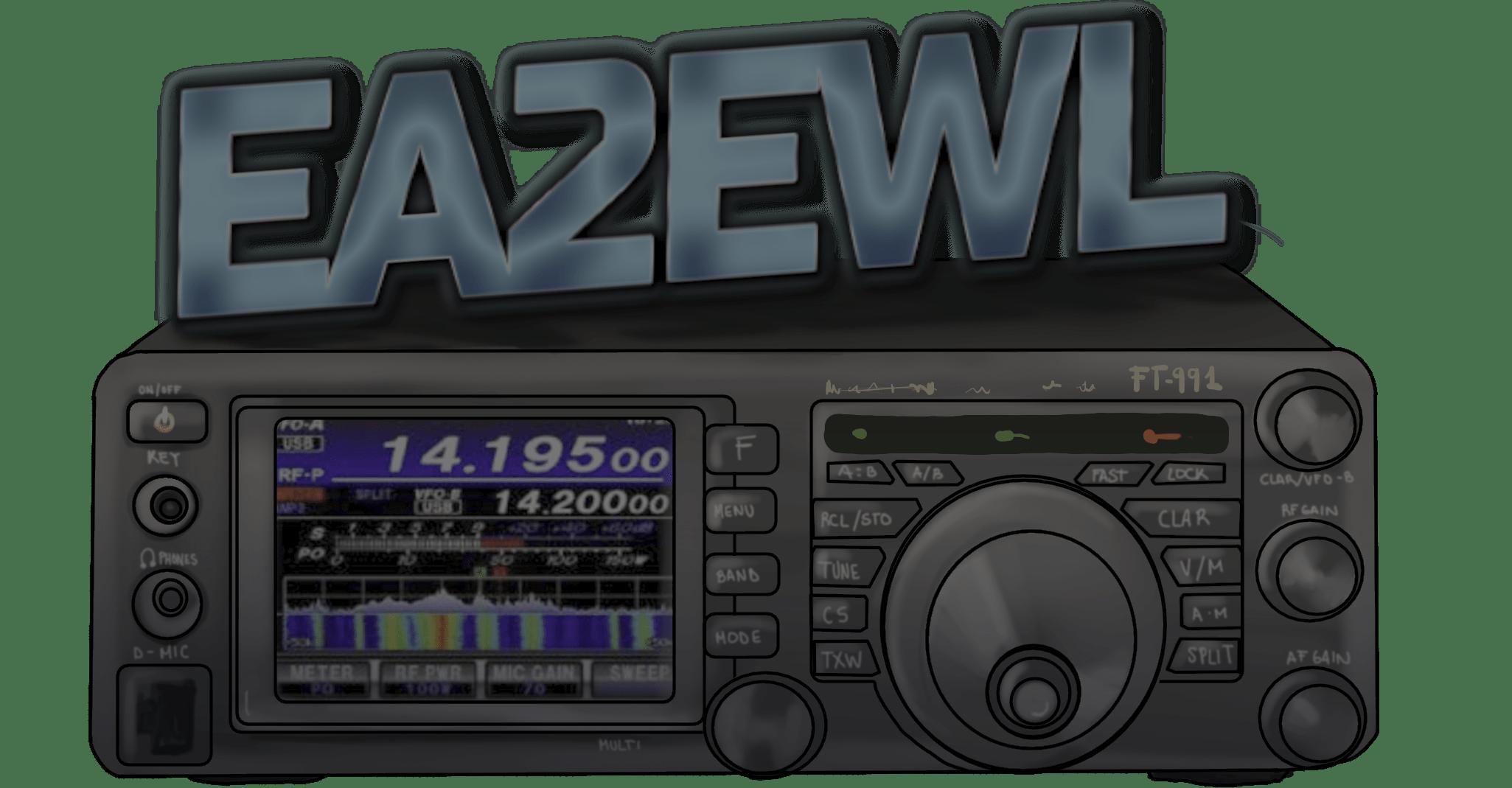 Blog Radioaficionado EA2EWL HF VHF UHF