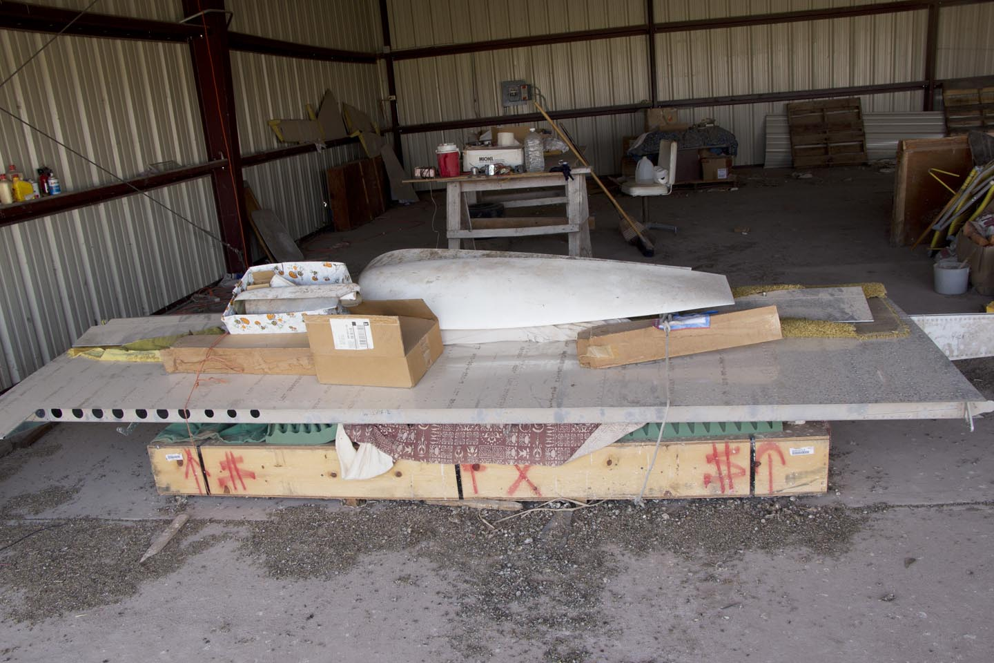 Wing & Fuselage Donation