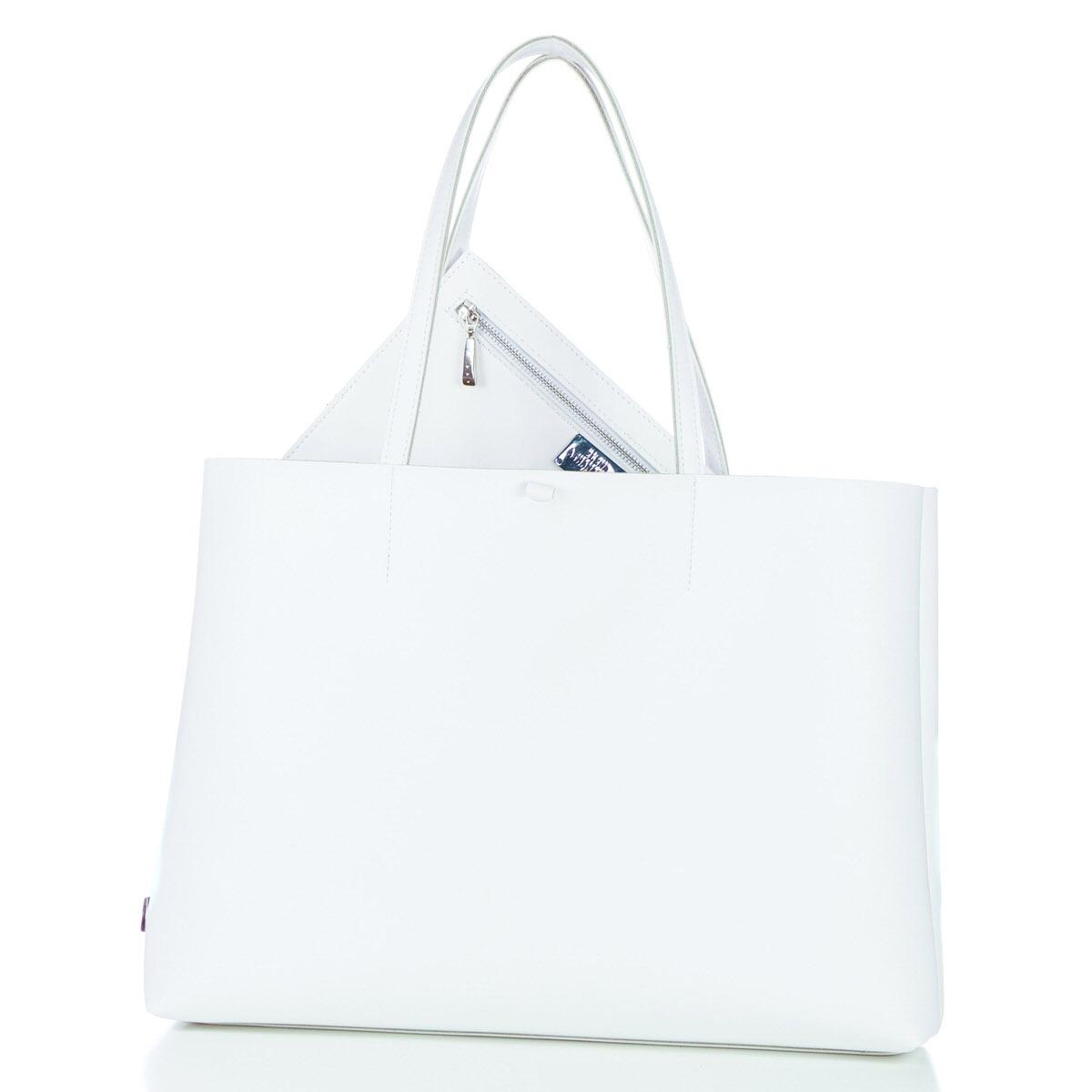 Slim Short Bag White