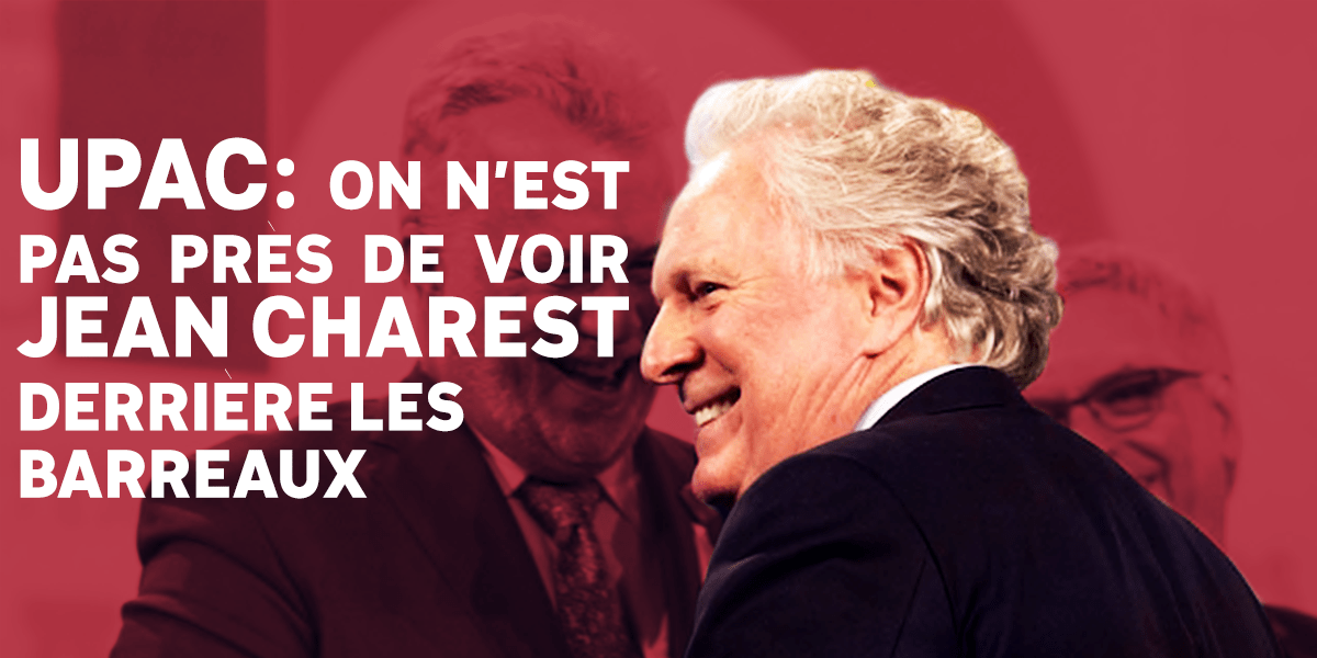 Jean Charest UPAC
