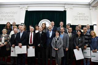 CAMBIO DE AUTORIDADES EN LA UNIVERSIDAD NACIONAL DE ROSARIO