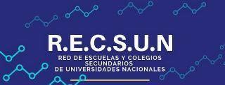 RECSUN: RED DE ESCUELAS Y COLEGIOS SECUNDARIOS DE UNIVERSIDADES NACIONALES