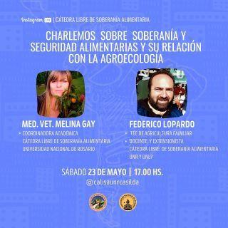 NUEVO ENCUENTRO DE LA CaLiSA CASILDA. 23 DE MAYO 17:00 HS.