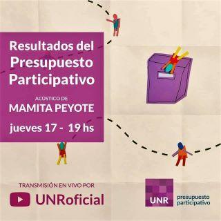 PRESUPUESTO PARTICIPATIVO UNR - CIERRE Y RESULTADOS - 17 DE DICIEMBRE