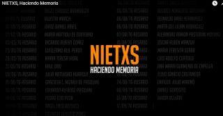 NIETXS, HACIENDO MEMORIA
