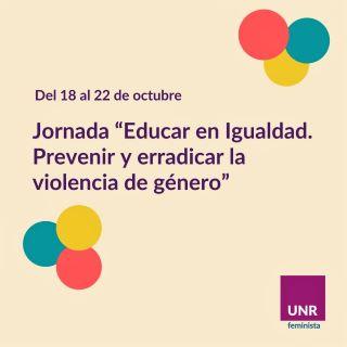 JORNADAS EDUCAR EN IGUALDAD EN LA AGRO - ÁREA DE GÉNERO Y SEXUALIDADES
