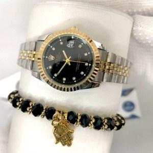 Reproduction Montre Rolex Datejust Fond Noir maroc casablanca rabat agadir tanger derb ghalef