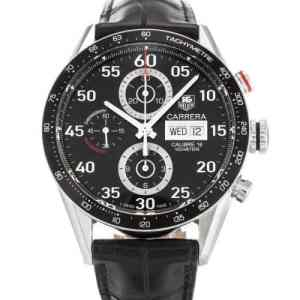 Montre Carrera Tag Heuer Noir Calibre 16
