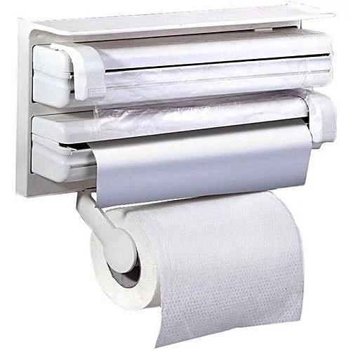 Distributeur de Film Alimentaire Papier Serviette et Feuilles d'aluminium 3 en 11