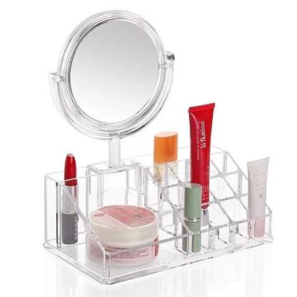 Pratique miroir design – avec boîte de rangement 2