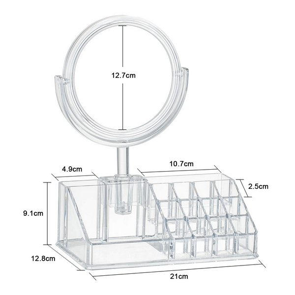 Pratique miroir design – avec boîte de rangement4
