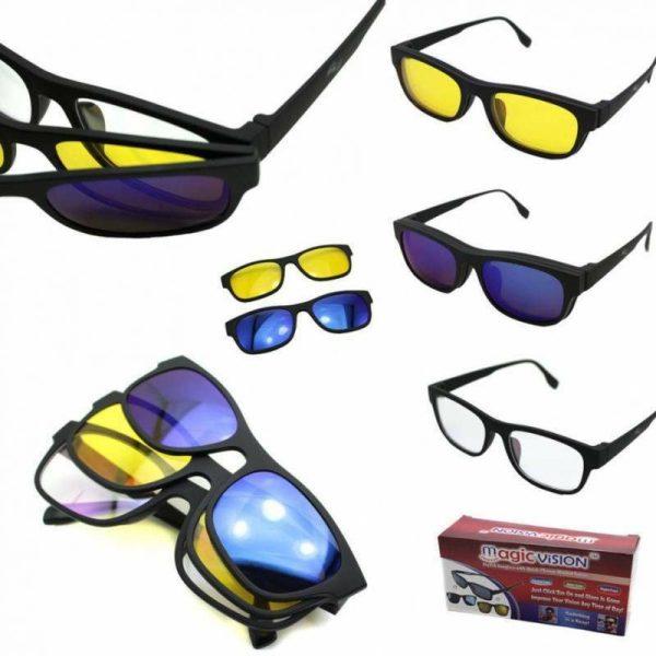 lunette 3 en 1 magic vision solaire maroc casablanca vente