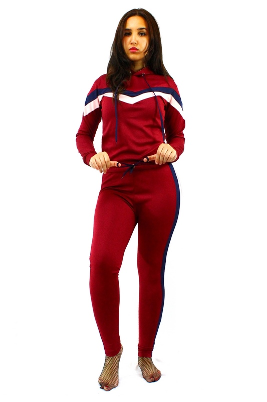 IMG 0195 - Chic Survêtement Sport Femme - Rouge
