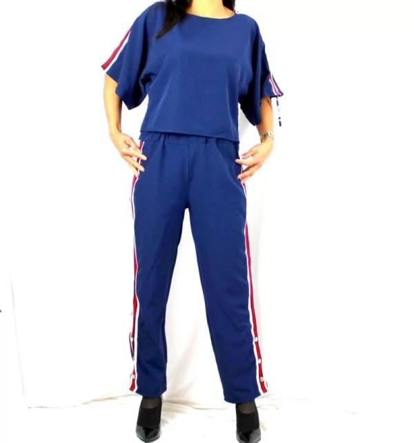 Achetez Ensemble Bandes Latérales Bleu Chic - E Achat - Maroc
