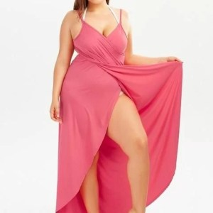 Cache Maillot Long Super Pratique - Rose