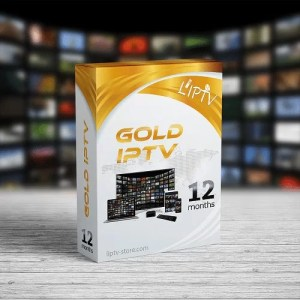 GOLD BOX IPTV 12 months - Sample Page