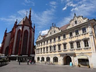 Marienkapelle and the Falkenhaus