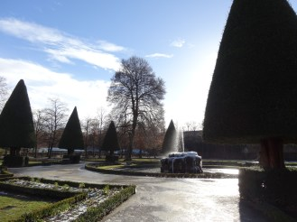 Hofgarten in winter