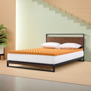 Zinus Copper Memory Foam Mattress Topper