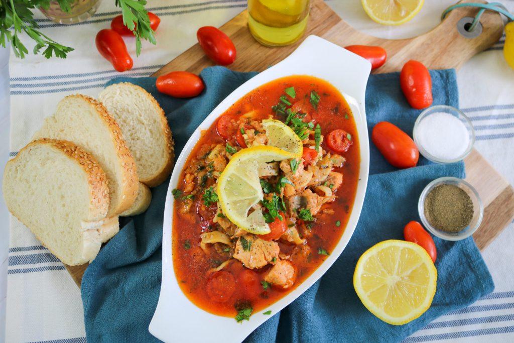 Tuscan Seafood Stew v1