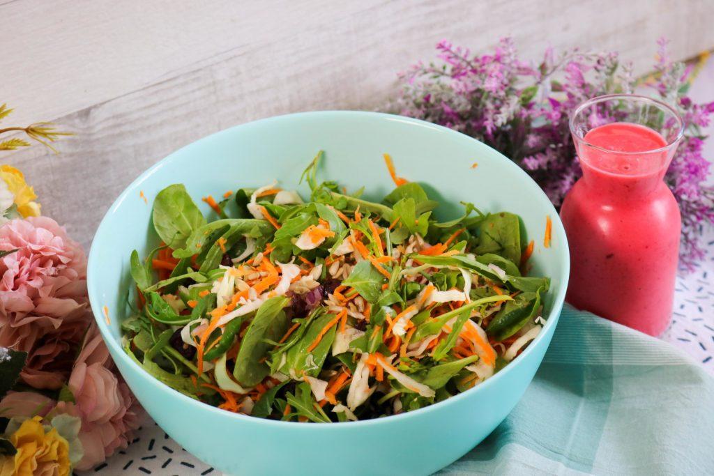Add Dressing to Salad