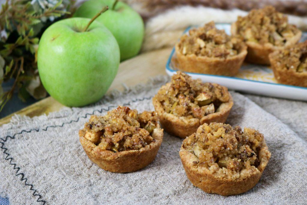 Mini Apple Walnut Pies
