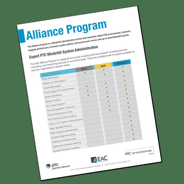 Alliance Program Brochure   EAC Product Development Solutions