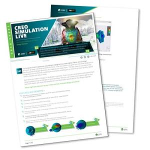 Creo Simulation Live Data Sheet | EAC Product Development Solutions