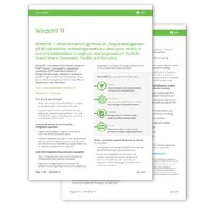 Windchill Data Sheet | EAC Product Development Solutions