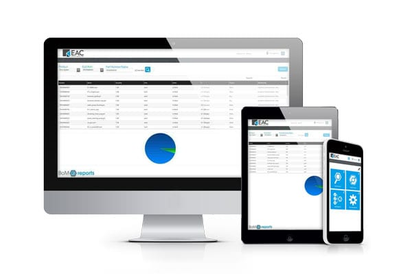 BoM Reports App - EAC Product Development Solutions