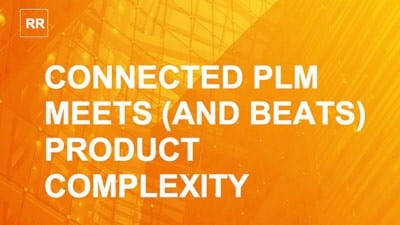 Aberdeen Research Study | Connected PLM Meets (and Beats) Product Complexity