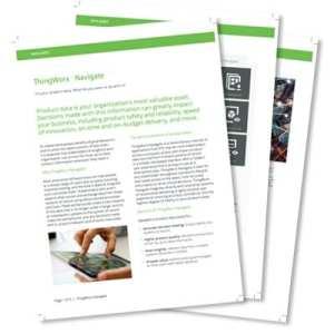 ThingWorx Navigate Data Sheet | EAC Product Development Solutions
