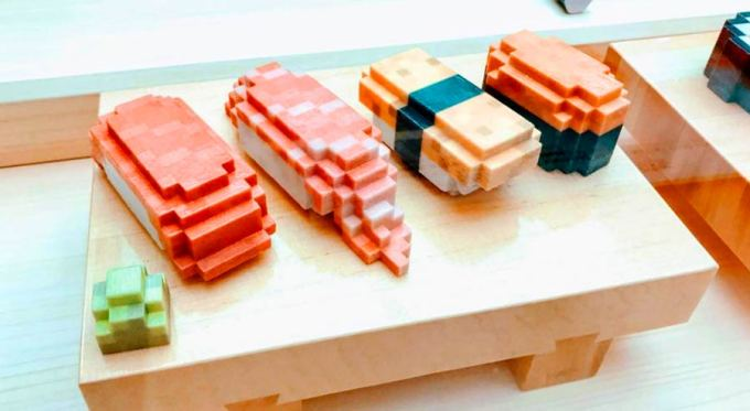 Open Meal 3D Printed Sushi | EAC Product Development Solutions