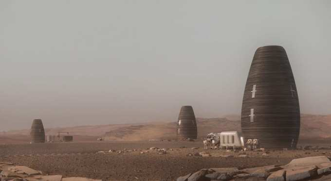 AI SpaceFactory builds home on Mars | EAC Product Development Solutions