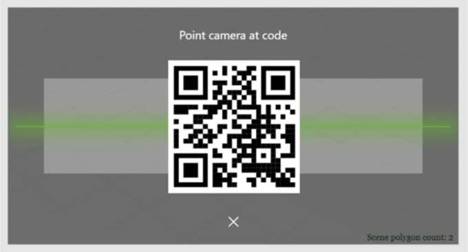 QR Code for EAC