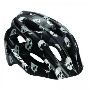 Hjelm Lazer Nutz Skulls black grey 50-55cm