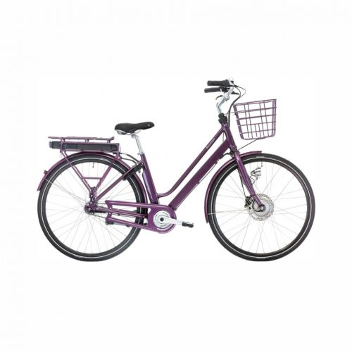 Raleigh Sussex E1 Dame 5 LED-disp. Nexus 7g Fod/Hydr. disc 48cm Lilla