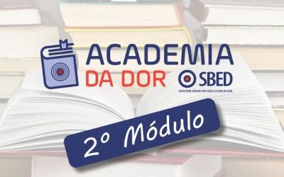 2º Módulo de Academia de Dor