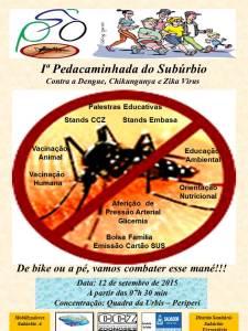 Cartaz Pedacaminhada Suburbio