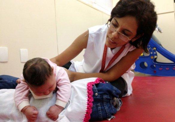 Zika microcefalia fisioterapia