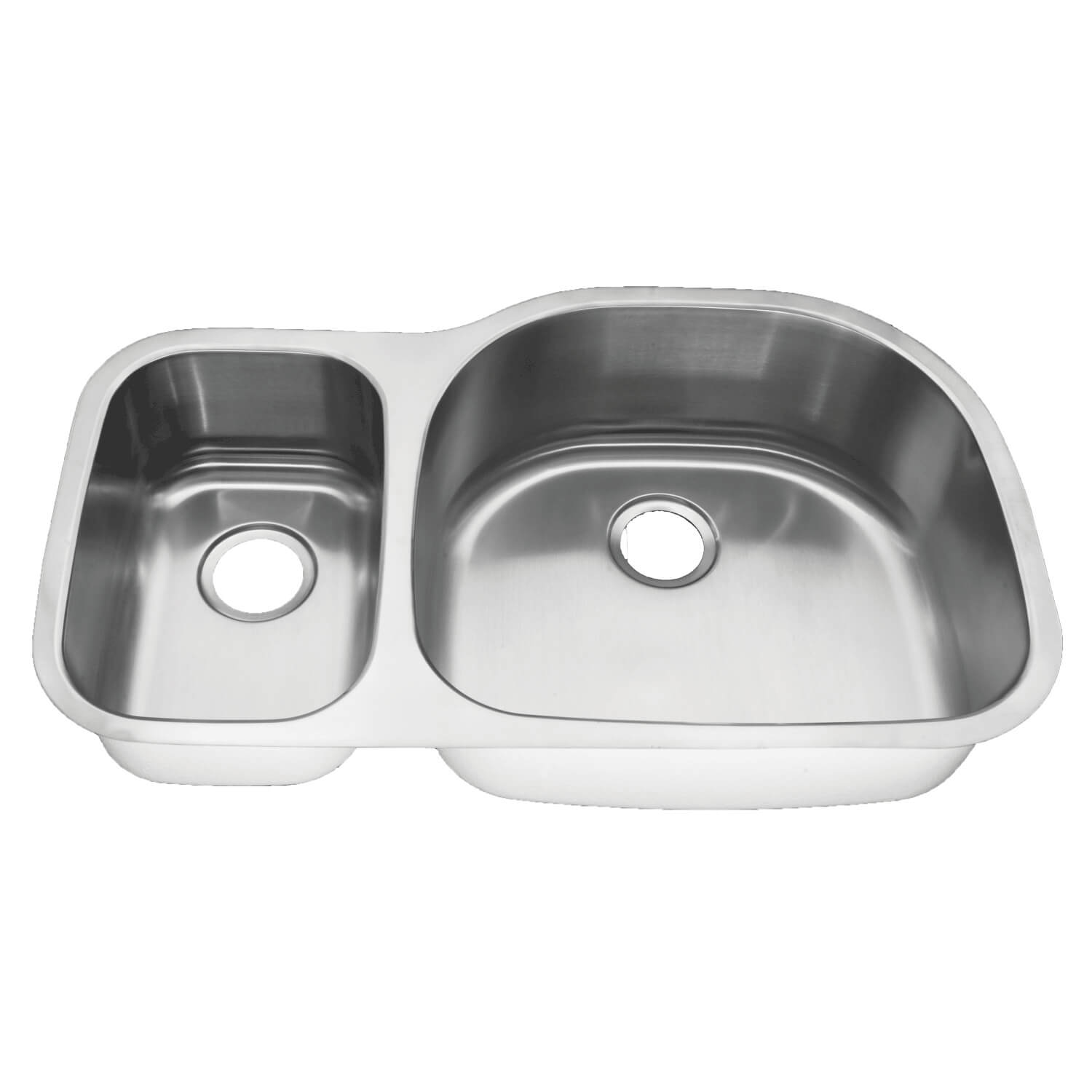 athens tyche reverse 35 1 4 x 20 3 4 x 9 stainless steel undermount 16 gauge 30 70 large double bowl kitchen sink