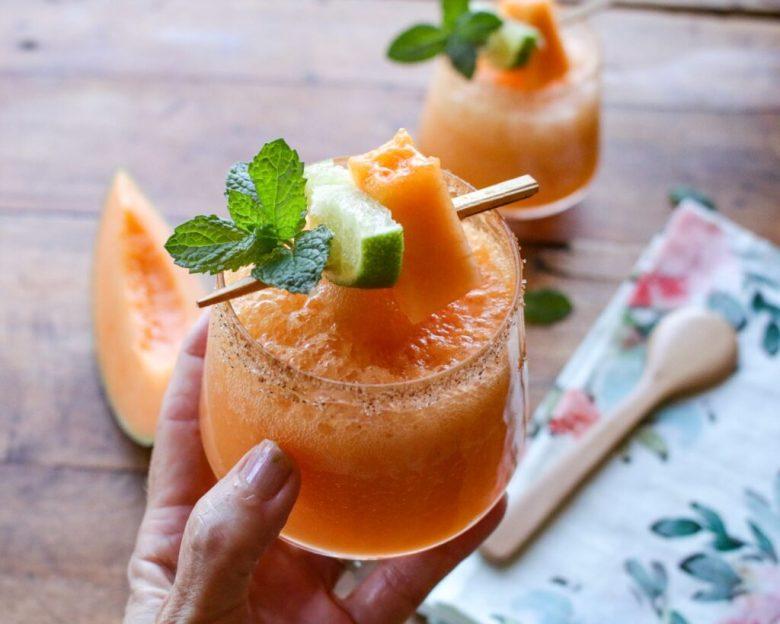 Light & Lovely Cantaloupe Margarita